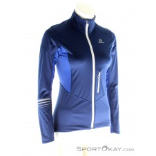 Salomon Lightning Shell Damen Outdoorjacke-Blau-M
