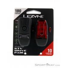 Lezyne KTV Drive Set Fahrradbeleuchtung-Schwarz-One Size