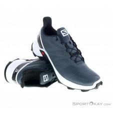 Salomon Supercross Damen Traillaufschuhe-Grau-6