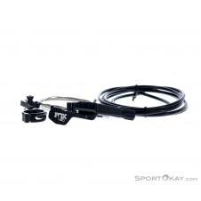Fox Lever Remotehebel 1-fach/links für Transfer Sattelstütze-Schwarz-One Size