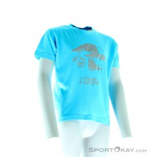 Stubaier Gletscher No Problem B-Big Kinder Shirt-Blau-104