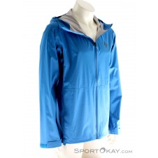 Black Diamond StormLine Stretch Herren Outdoorjacke-Blau-S