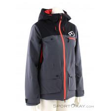 Ortovox 2L Swisswool Andermatt Jacket Damen Tourenjacke-Schwarz-M
