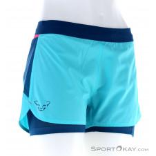Dynafit Alpine Pro 2in1 Shorts Damen Laufshort-Blau-34