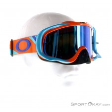 Oakley Crowbar MX Heritage Racer Goggle Downhillbrille-Orange-One Size