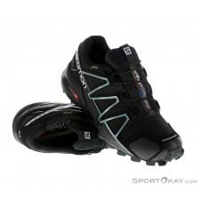 Salomon Speedcross 4 GTX Damen Traillaufschuhe Gore-Tex-Schwarz-4