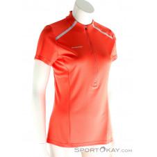 Mammut Atacazo Light Zip Damen T-Shirt-Orange-XS