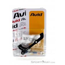 Avid IS Adapter, 40 mm, für 180 mm hinten, 200 mm vorne-Schwarz-One Size