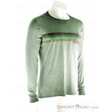 Chillaz Alaro Respect Herren Shirt-Oliv-Dunkelgrün-S
