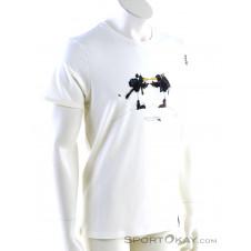 Chillaz Gipfelstürmer Herren T-Shirt-Weiss-S