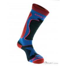 Ortovox Ski Rock'n Wool Sock Damen Socken-Blau-39-41
