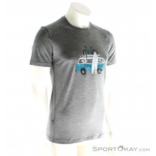 Icebreaker Sphere SS Crewe Herren T-Shirt-Grau-M