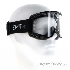 Smith MTB Clear Single Lens Downhillbrille-Schwarz-One Size