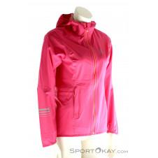 Salomon Lightning Pro Jacket Damen Laufjacke-Pink-Rosa-L