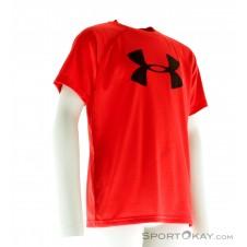 Under Armour Big Logo Shirt Jungen T-Shirt-Schwarz-M