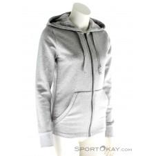 adidas Essentials Solid FZ Damen Trainingssweater-Grau-M