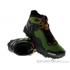 Salewa Ultra Flex Mid GTX Herren Traillaufschuhe Gore-Tex-Grün-8,5
