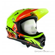 Oneal Backflip RL2 Burnout Downhill Helm-Mehrfarbig-M
