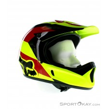Fox Rampage Mako Helmet Downhill Helm-Gelb-L