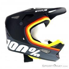 100% Status Jugend Downhill Helm-Schwarz-M