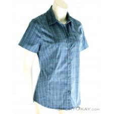 Jack Wolfskin Centaura Stretch Vent Shirt Damen Outdoorbluse-Blau-S