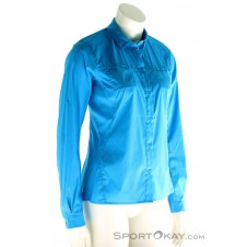 Arcteryx Fernie LS Shirt Damen Outdoorhemd-Blau-S