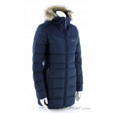 Jack Wolfskin Baffin Island Coat Damen Mantel-Blau-S