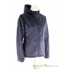 CMP Softshell Damen Outdoorjacke-Blau-40