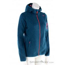 CMP Fix Hood Jacket Damen Sweater-Oliv-Dunkelgrün-38