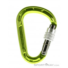 Edelrid Strike Screw Oasis HMS-Karabiner-Grün-One Size
