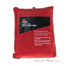 MSR Hubba Tour 3 Fast&Light Body Zelt Zubehör-Rot-One Size