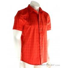 Jack Wolfskin Rays Stretch Vent Shirt Herren Outdoorhemd-Rot-48