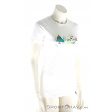 La Sportiva Vertriangle SS Damen T-Shirt-Weiss-XS