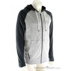 Under Armour Sportstyle F/Z Tri Hood Herren Trainingssweater-Blau-XXL