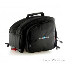 Klickfix Rackpack 1 Plus Rackpack Gepäcksträgertasche-Schwarz-One Size