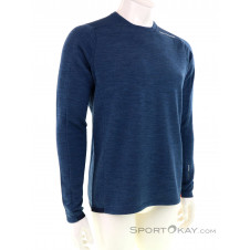 Ortovox Merino Terry Sweater Herren Shirt-Blau-XL