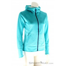 Salomon Right Nice Hybrid Hoodie Damen Outdoorsweater-Blau-S