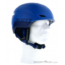 Scott Chase 2 Plus Skihelm-Blau-S