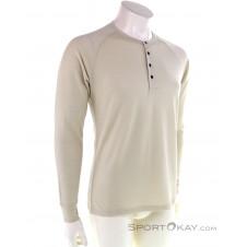 Bergans Lysebu Wool Henley Herren Shirt-Beige-S