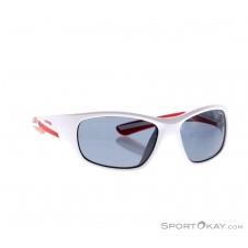 Alpina Flexxy Youth Kinder Sonnenbrille-Weiss-One Size