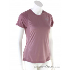 Under Armour Qualifier Iso-Chill Damen T-Shirt-Pink-Rosa-XS