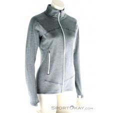 Ortovox Fleece Light Melange Jacket Damen Outdoorsweater-Grau-S