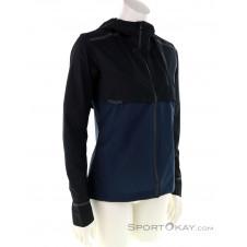 On Weather Jacket Damen Laufjacke-Dunkel-Blau-S