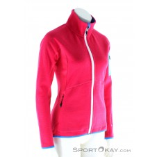 Ortovox MI Tec-Fleece Jacket Damen Tourenjacke-Pink-Rosa-XS