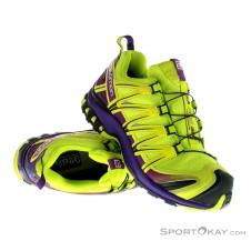 Salomon XA Pro 3D GTX Damen Traillaufschuhe Gore-Tex-Grün-4