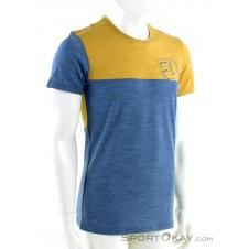 Ortovox 150 Cool Logo Herren T-Shirt-Blau-S