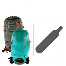 ORTOVOX AVABAG SET Airbagrucksack mit Carbon Kartusche