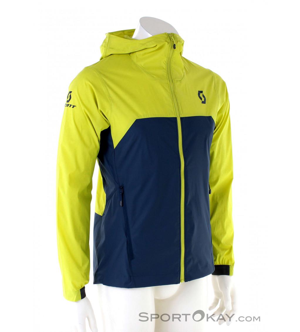 SCOTT Trail MTN WB 2020 Verde Oliva//Grigio Colore Giacca a Vento da Bicicletta