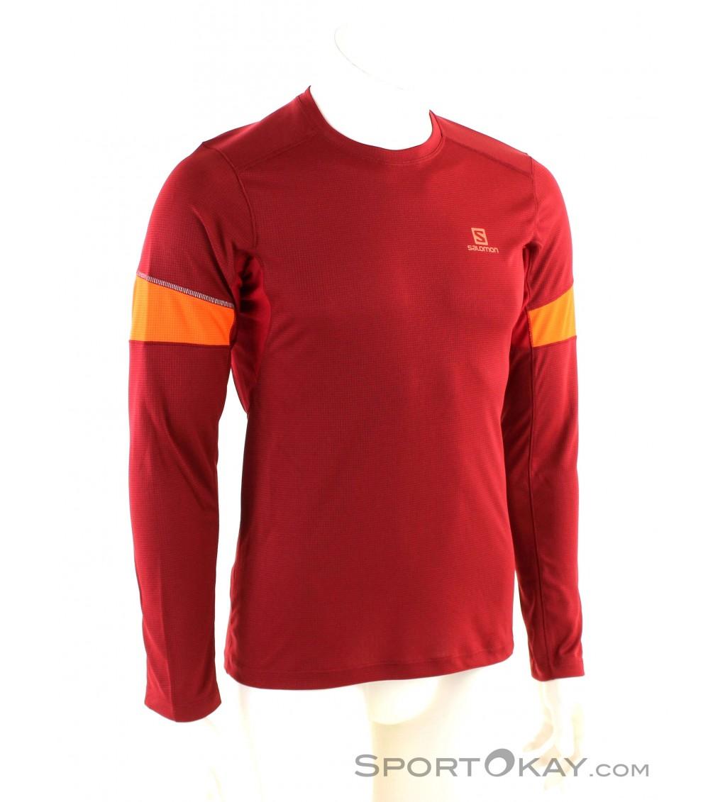33e0dd9c56df Salomon Agile LS Tee Uomo Maglia - T-Shirt & magliette ...