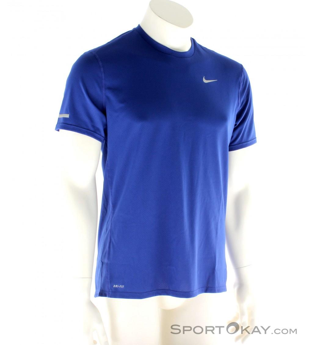 11ddbd3d09ad Nike Dri-FIT Contour Uomo Maglietta da Corsa - Magliette ...
